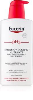 Eucerin pH5 leche corporal nutritiva para pieles sensibles