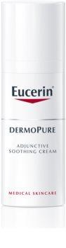 Eucerin DermoPure crème apaisante pour accompagner les traitements dermatologiques de l'acné