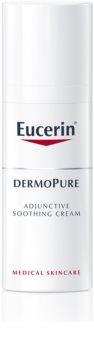 Eucerin DermoPure pomirjevalna krema pri dermatološkem zdravljenju aken