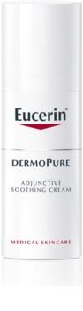 Eucerin DermoPure zklidňující krém při dermatologické léčbě akné