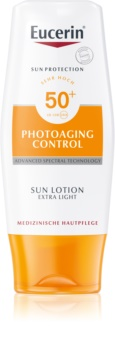 Eucerin Sun Photoaging Control lait solaire extra-léger SPF 50+