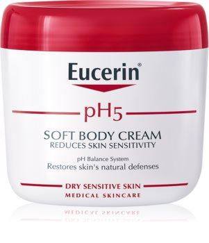 Eucerin pH5 crème pour le corps pour peaux sèches et sensibles