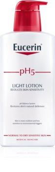 Eucerin pH5 leichte Body lotion für trockene und empfindliche Haut