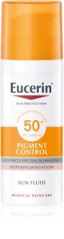 Eucerin Sun Pigment Control emulsione protettiva contro l'iperpigmentazione della pelle SPF 50+