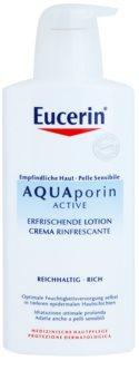 Eucerin Aquaporin Active telové mlieko pre suchú a citlivú pokožku