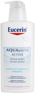 Eucerin Aquaporin Active telové mlieko pre normálnu pokožku