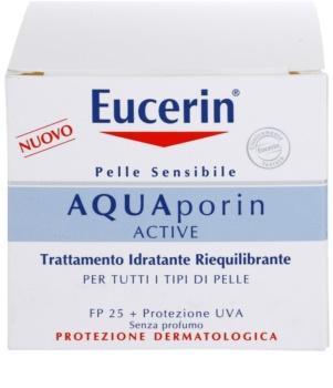 Eucerin Aquaporin Active Crema intens hidratanta pentru toate tipurile de piele SPF 25