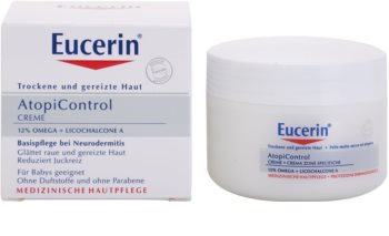 Eucerin AtopiControl 12% Omega + Licochalcone A Cream For Dry And Itchy Skin