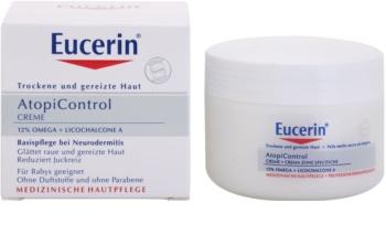 Eucerin AtopiControl крем для сухої шкіри з відчуттям свербіння