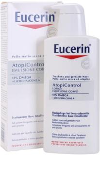 Eucerin AtopiControl молочко для тіла для сухої шкіри з відчуттям свербіння