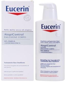 Eucerin AtopiControl tělové mléko pro suchou a svědící pokožku