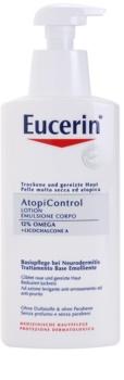 Eucerin AtopiControl leite corporal para pele seca e com purido
