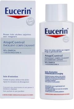 Eucerin AtopiControl leche corporal calmante para pieles secas y atópicas