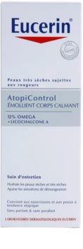 Eucerin AtopiControl nyugtató testápoló tej száraz és atópiás bőrre