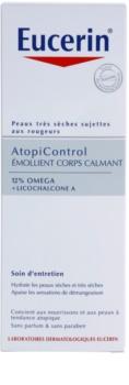Eucerin AtopiControl заспокоююче молочко для тіла для сухої та атопічної шкіри