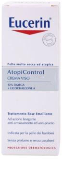 Eucerin AtopiControl crème apaisante pour peaux sèches avec démangeaisons