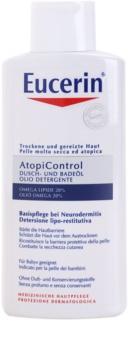 Eucerin AtopiControl ulei pentru baie si dus pentru piele uscata, actionand impotriva senzatiei de mancarime