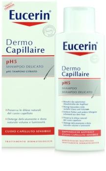 Eucerin DermoCapillaire champô para o couro cabeludo sensível