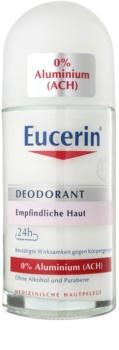 Eucerin Deo Desodorizante Roll-On sem amoníaco para pele sensível