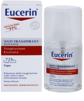 Eucerin Deo antitranspirante en spray contra el exceso de sudor
