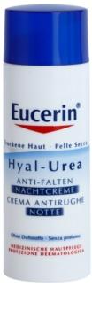 Eucerin Hyal-Urea crème de nuit anti-rides pour peaux sèches à atopiques