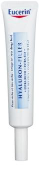 Eucerin Hyaluron-Filler crema de ojos extra nutritiva antiarrugas profundas