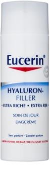 Eucerin Hyaluron-Filler crema giorno antirughe per pelli secche e molto secche