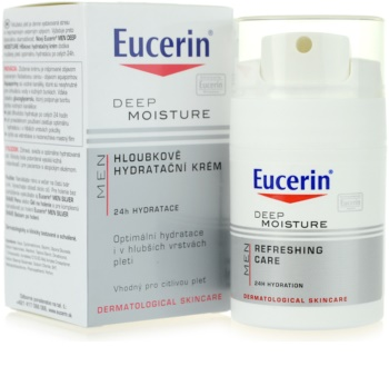Eucerin Men Moisturising Cream For Sensitive Skin