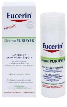 Eucerin Dermo Purifyer crema mata pentru ten acneic