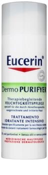 Eucerin Dermo Purifyer nappali hidratáló krém problémás és pattanásos bőrre