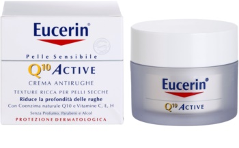 Eucerin Q10 Active Gladmakende Crème  tegen Rimpels