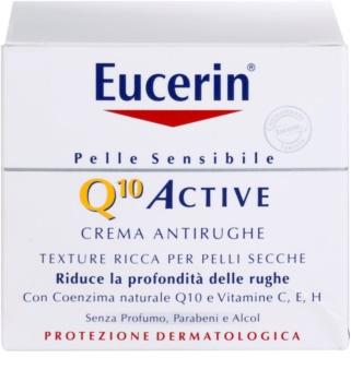 Eucerin Q10 Active verfeinernde Crem gegen Falten