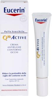 Eucerin Q10 Active creme de olhos antirrugas SPF 15