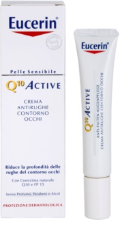 Eucerin Q10 Active protivráskový očný krém SPF 15