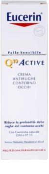 Eucerin Q10 Active protivráskový oční krém SPF 15
