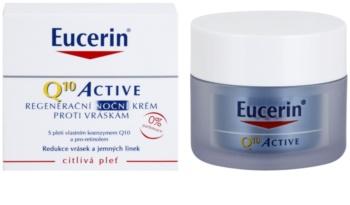 Eucerin Q10 Active creme de noite regenerador  antirrugas