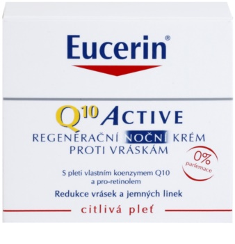 Eucerin Q10 Active regenerační noční krém proti vráskám