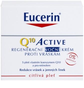 Eucerin Q10 Active Regenerating Night Cream with Anti-Wrinkle Effect