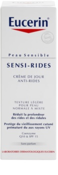 Eucerin Sensi-Rides crème de jour anti-rides pour peaux normales à mixtes