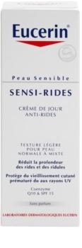 Eucerin Sensi-Rides denný krém proti vráskam pre normálnu až zmiešanú pleť