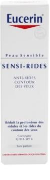 Eucerin Sensi-Rides crema para contorno de ojos para corrección de arrugas