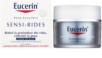 Eucerin Sensi-Rides krem na noc przeciw zmarszczkom
