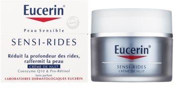 Eucerin Sensi-Rides nočna krema proti gubam
