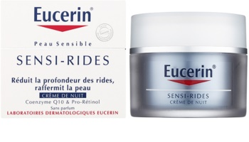 Eucerin Sensi-Rides nočný krém proti vráskam