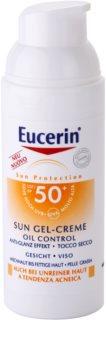 Eucerin Sun Protective Cream - Gel Face SPF 50+