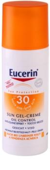 Eucerin Sun захисний кремовий гель для обличчя SPF 30