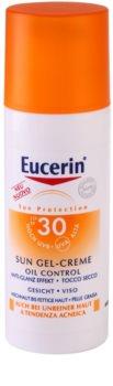 Eucerin Sun zaščitni kremasti gel za obraz SPF 30