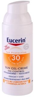 Eucerin Sun crema-gel cu efect de protectie a fetei SPF 30