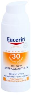 Eucerin Sun zaščitni fluid proti gubam SPF 30