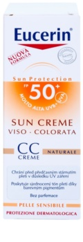 Eucerin Sun crema CC SPF50+